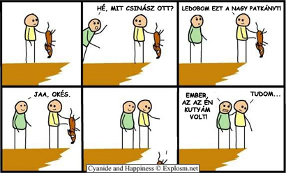 A nagy patkány esete (Cyanide and Happiness)