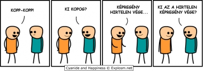 Kopp-kopp, ki kopog? (Cyanide and Happiness)