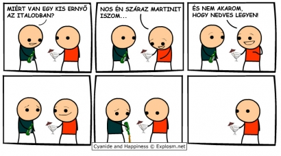 Koktélparty (Cyanide and Happiness)