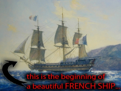 Beautiful French Ship