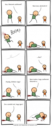 Szellem (Cyanide and Happiness)