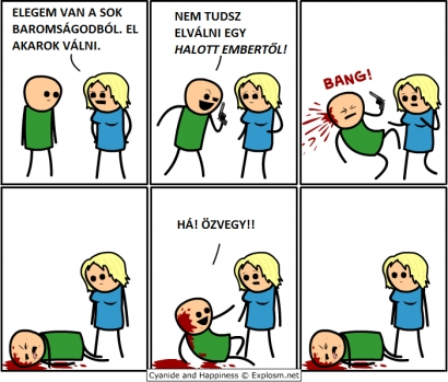 Elválás (Cyanide and Happiness)